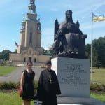 Пам'ятник княгині Ользі, Роман і Валентина Будзинські