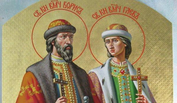 Святі брати Борис і Гліб