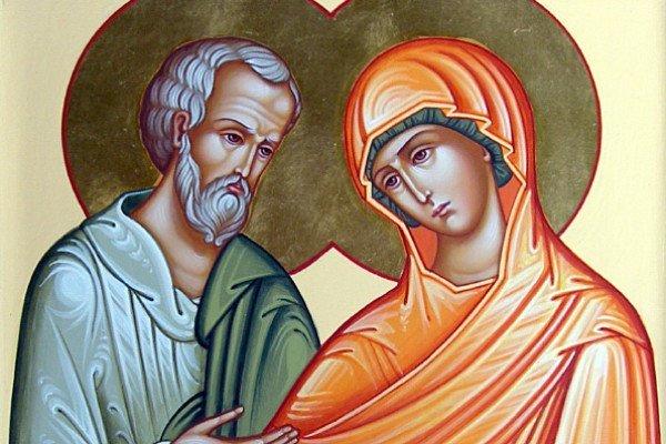 Богоотці Іоаким і Ганна