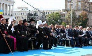 Святкування Дня незалежності України. Київ, Майдан Незалежності,  24 серпня 2010 року